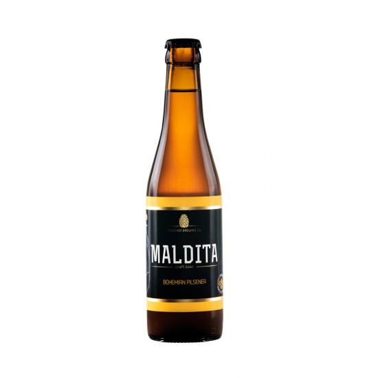 Cerveja Artesanal Maldita Boemian Pilsener