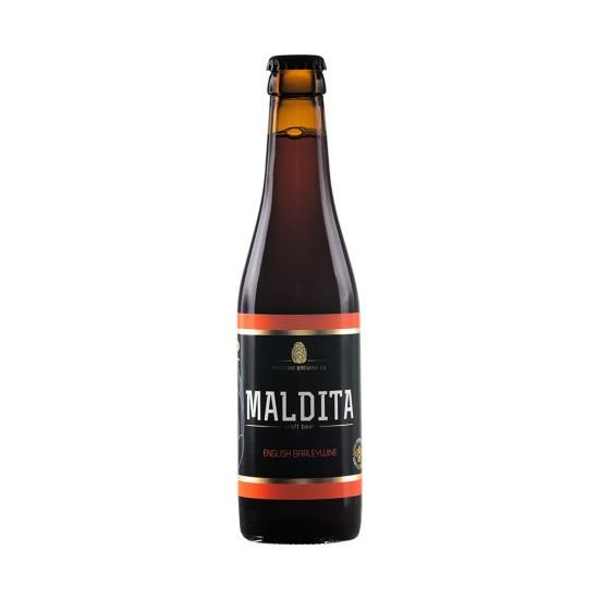 Cerveja Artesanal Maldita English Baarleywine