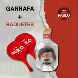 *Pack Gin Pablo e raquetes