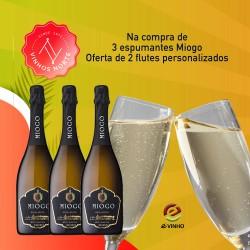 *Pack Espumante Miogo Reserva Extra Bruto Branco 2017