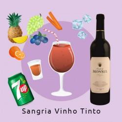 (Delivery) *Sangria de Vinho Tinto