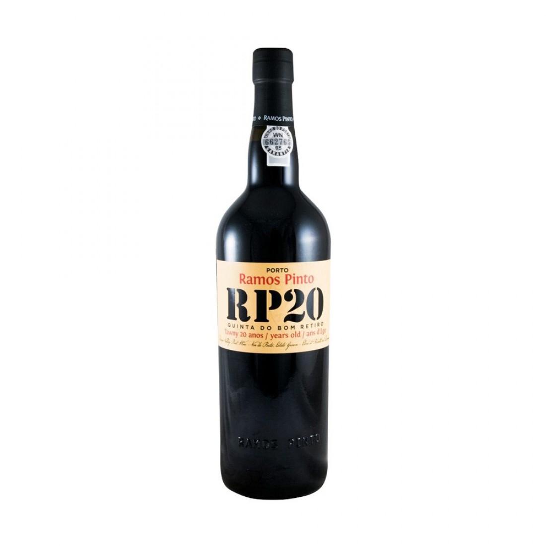 Vinho do Porto Ramos Pinto Quinta do Bom Retiro Tawny 20 anos